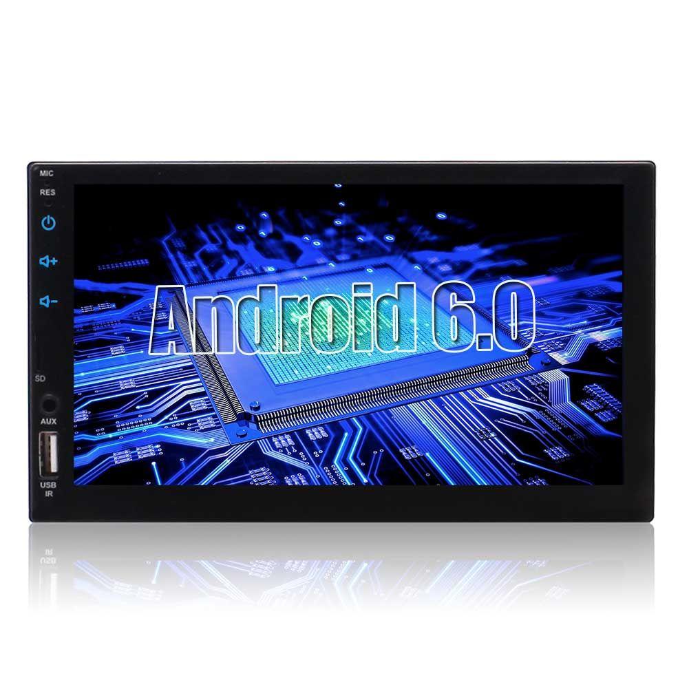 Eincar Double Din Touchscreen Bluetooth Manos libres coche 7 '' Monitor LCD Navegación GPS USB / Mirco Ranura para tarjeta SD AM / FM RDS Radio RCA AUX