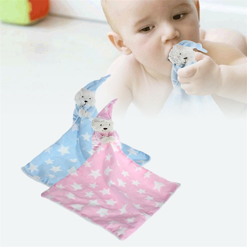 Baby Bär Plüschtiere Baby Pacify Schlafen Sicherheitsdecke Gefüllte Weiche Puppe Plüschtier Für Kinder Geburtstag Weihnachtsgeschenk