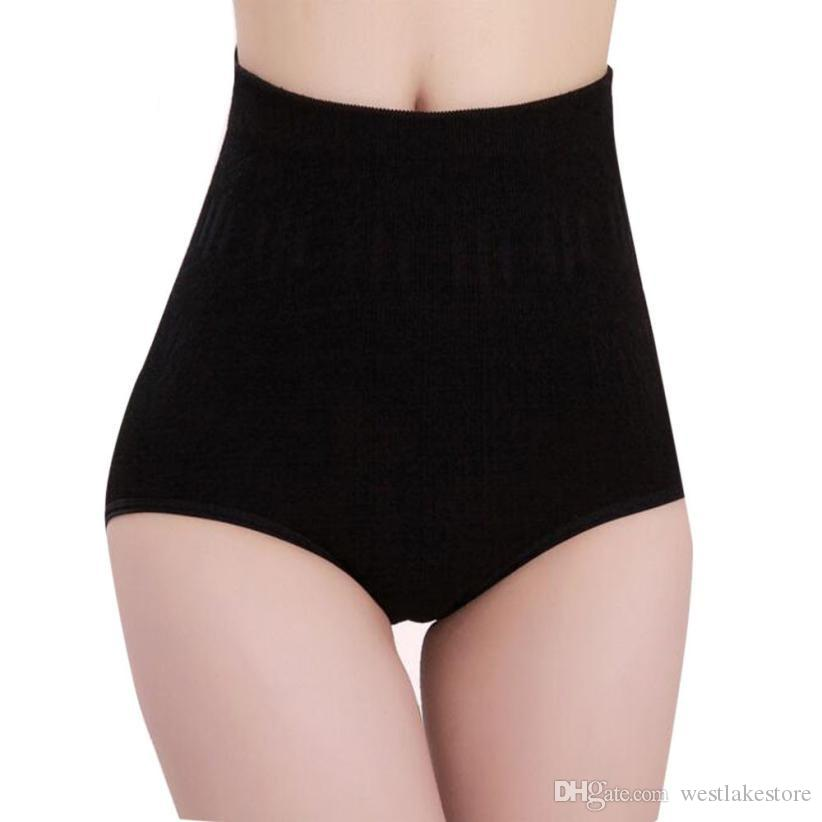 Sexy Womens cintura alta Tummy Controle Shaper Corpo Cueca emagrecimento Slimming Cueca instrutor Pants Calcinhas shapewear