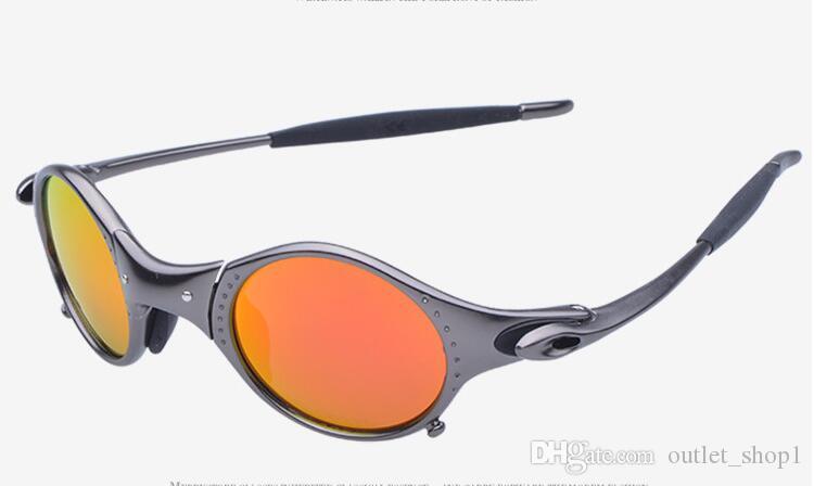 العلامة التجارية الاصلية اولي جولييت ركوب الدراجات النظارات X المعادن ركوب نظارات شمسية روميو الرجال الاستقطاب النظارات oculos العلامة التجارية مصمم في الهواء الطلق البصرية