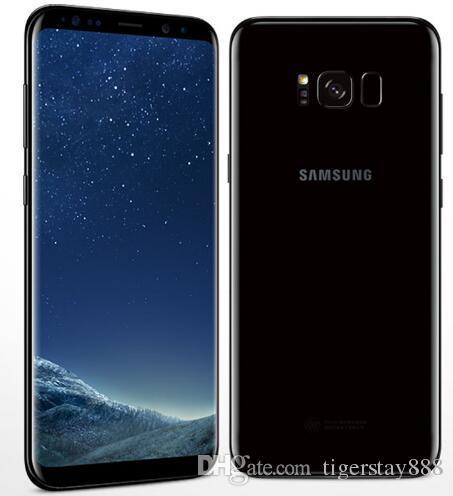 تم تجديد الهاتف الأصلي من سامسونج جالاكسى S8 مع خلية مغلقة بذاكرة الوصول العشوائي (RAM) سعة 4 جيجابايت و 64 جيجابايت / 128 جيجا ، أندرويد 7.0 5.8