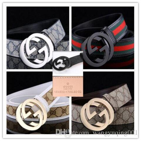 2019 Projeto Belts Homens e mulheres da moda Belt Mulheres Correia de couro Ouro Prata e preto Buckle