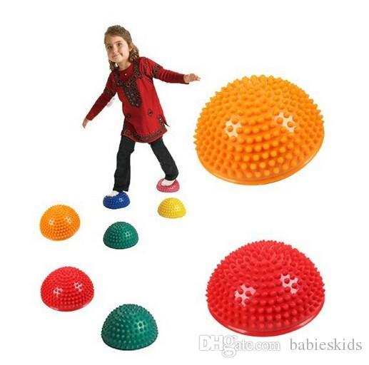 New Fashion Hemispheres Stepping Stone Durian Massage Ball Kids Children Kindergarten Sensory Integration Balance Training Toys