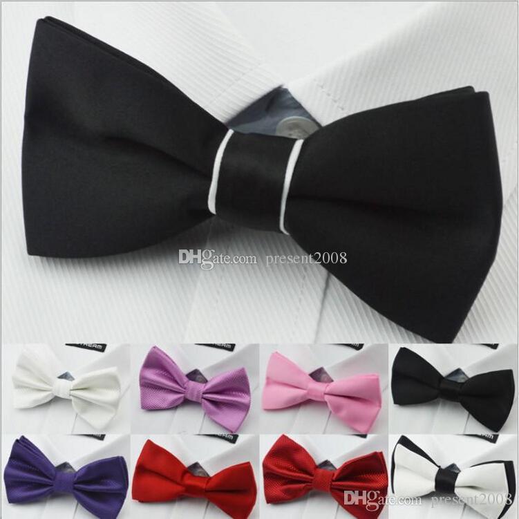 Die Fliegen-Normallack-Normallack-Satin-dünne Krawatten-Bräutigam-Krawatte-Silk Jacquard-gesponnene Krawatte der NEUEN Männer auf Lager Freies Verschiffen MYY