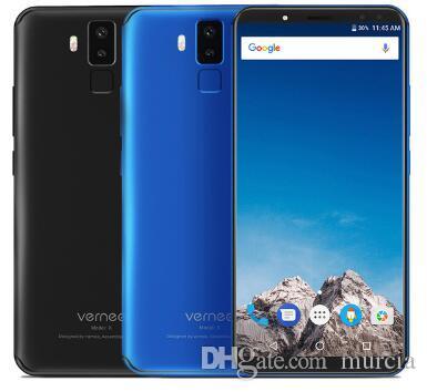 "Vernee X1 6GB 64GB 6.0 ""18 : 9 디스플레이 얼굴 인식 Mobile Phones MT6763 Octa Core 6200mAh Android7.1 OTG 16MP 4 캠 스마트 폰"