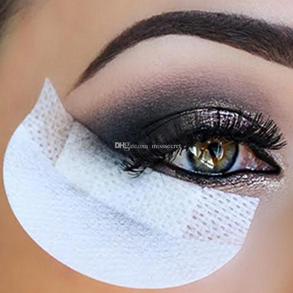 Maquillage pour les yeux Outils à usage unique fard à paupières Tapis yeux Maquillage Gel Shield Pad Protector Sticker Cils Extensions Patch