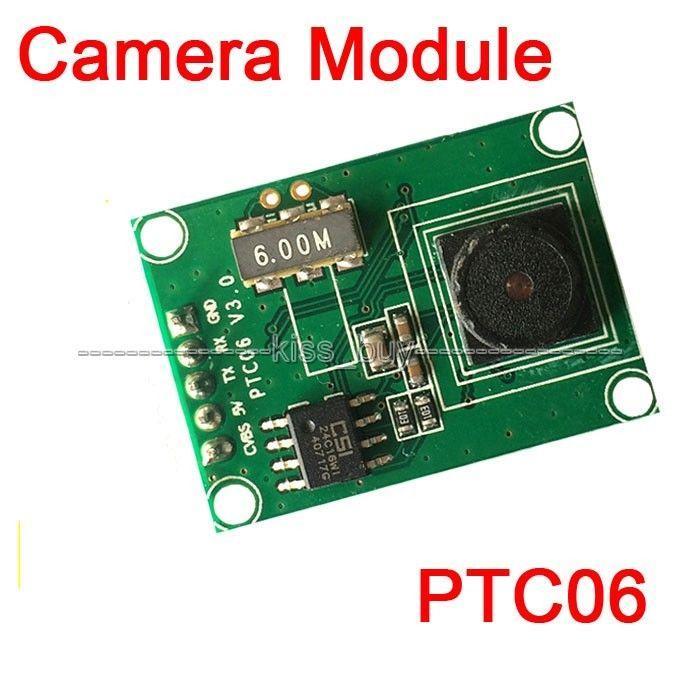 Freeshipping Miniature PTC06 Serial JPEG Camera Module CMOS 1/4 inch TTL/UART Interface MRY