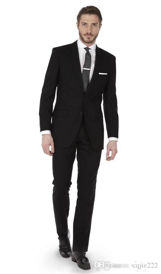 Newest Slim Fits Side Vent Groom Tuxedos Men Business Coat Men Formal Dinner Party Suits (Jacket+Trousers+Tie) 613