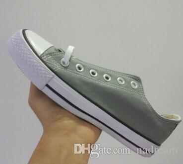 Tela Uomo 2020 DORP adulto di trasporto NUOVE donne 35-46 Nuovo unisex alta-Top pattini correnti di 13 colori allacciate scarpe casual scarpe da tennis