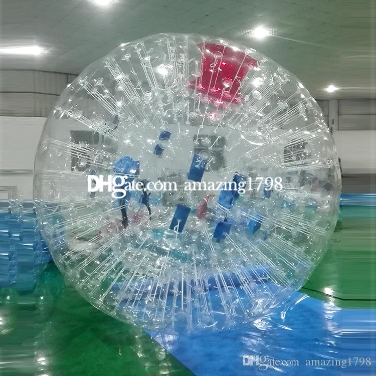 Free shipping Free One Pump Dia 3M Zorb Ball Rental Germany Inflatable Zorb Ball The Cheap Clear Zorb Ball