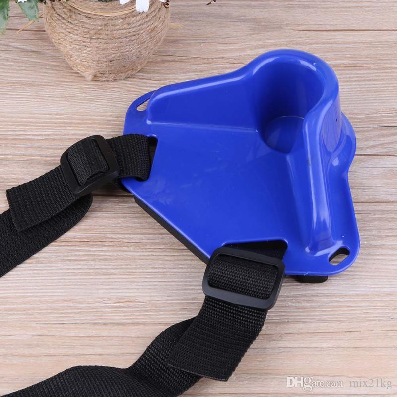 Haute Qualité protable Pêche ventre taille Prop canne à pêche équipement de soutien Force Roche ceinture pour la pêche Porte-Statif