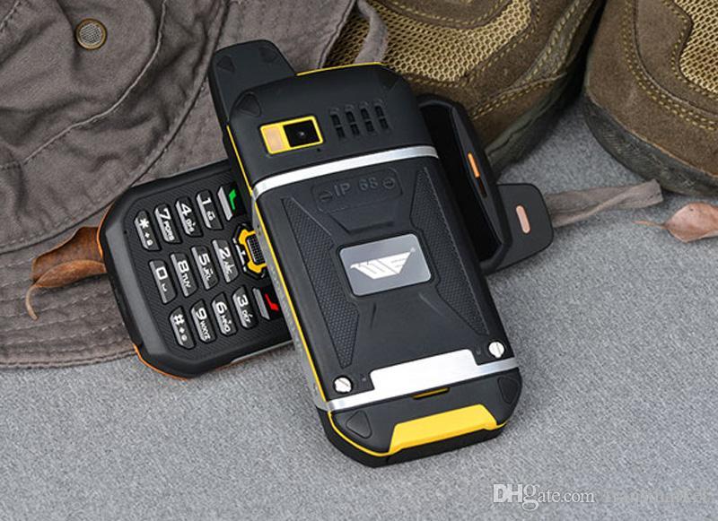Original Waterproof phone WE S8 Power Bank GSM Senior old man IP68 Rugged shockproof cell three sim sonim Factory Directly Hot sale