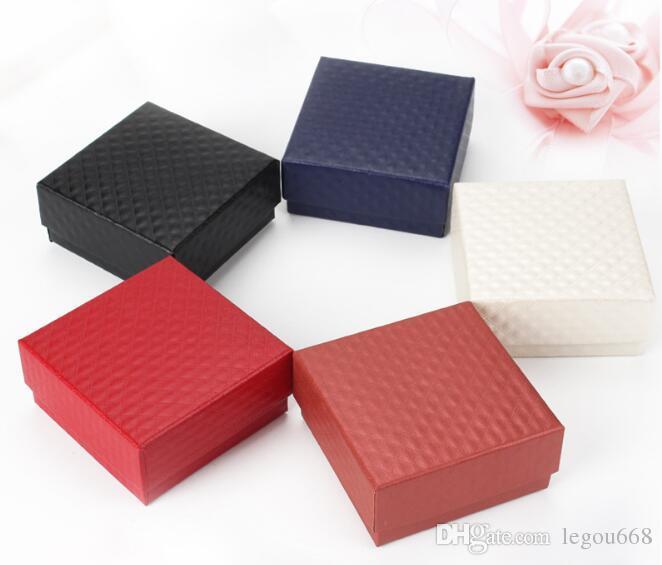 المجوهرات مربع 7 * 7 الماس الحبوب سوار قلادة حلقة مربع كسب مربع الراقية المجوهرات مربع W446