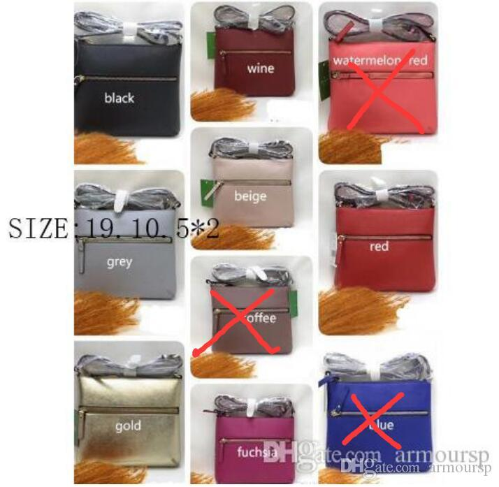 NEW brand designer shoulder bags crossbody bag double zippers pu purses for women+GIFT lipstick