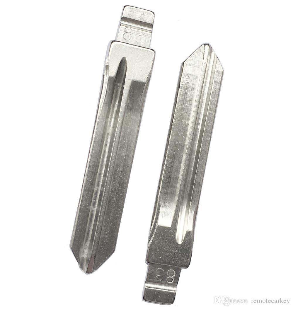 KD SX9 Car Key Blade No.83 Flip Key Blade For KEYDIY Remote Key uncut 20pcs A Lot