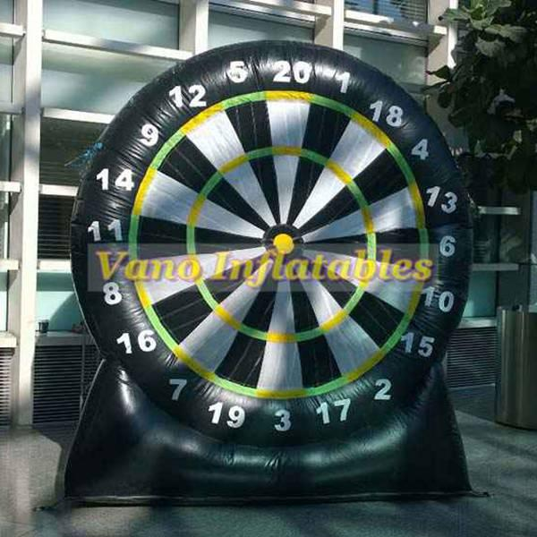 Grosshandel Fussball Darts Hohe Qualitat 3 Mt 4 Mt 5 Mt 6 Mt Aufblasbare Dartscheibe Fussballspiele Mit Geblase Kostenloser Versand Von Vanoinflatable