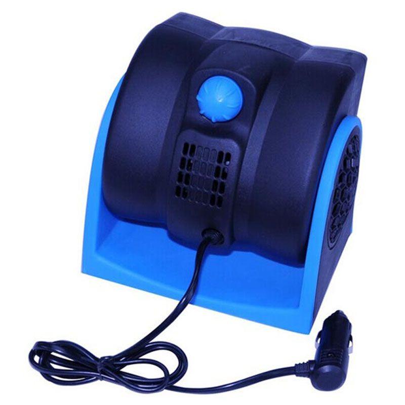 Auto Car Vehicle Fan 12V Portable Electric Fan Mini Adjustable Speed Silent Air Fan Air Ventilator for Car Truck RV SUV ATV
