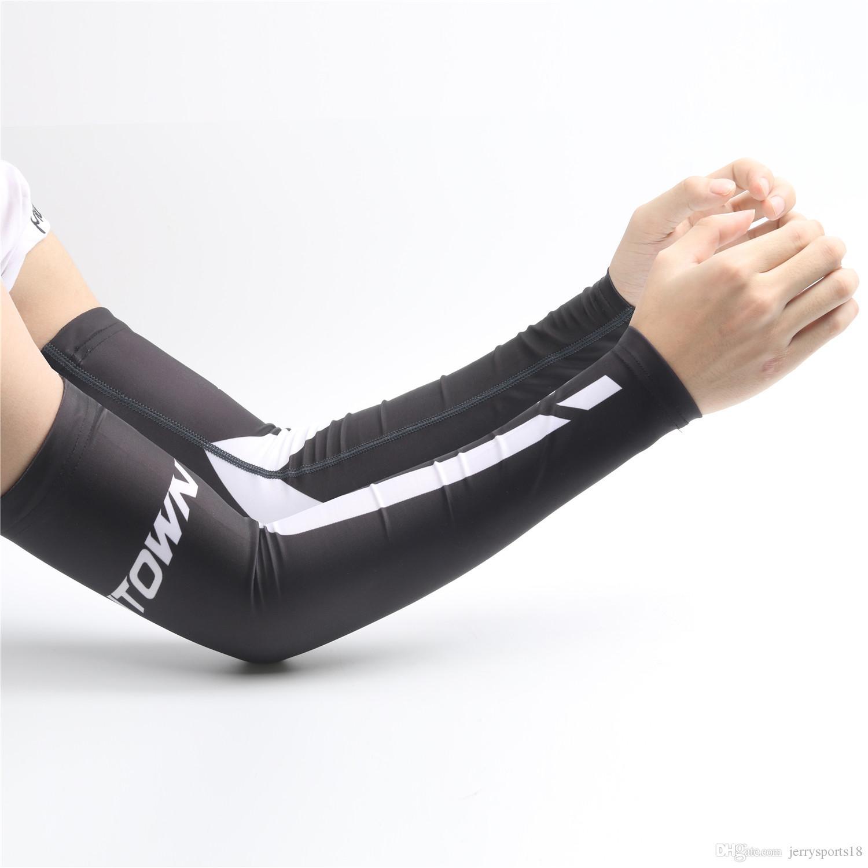 15 Colores Nuevo Ciclismo Bicicleta Calentadores de brazo de bicicleta Funda de puño Protección solar Correr Sección de hombres Calentadores de pierna de manga de baloncesto