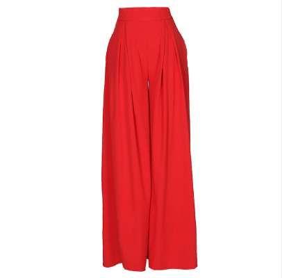 Kadın Harem Pantolon Düz Renk Yüksek Bel Gevşek Geniş Bacak Pantolon Cepler Casual Palazzo Baggy Clubwear Pantolon 2018 Pantalon Femme