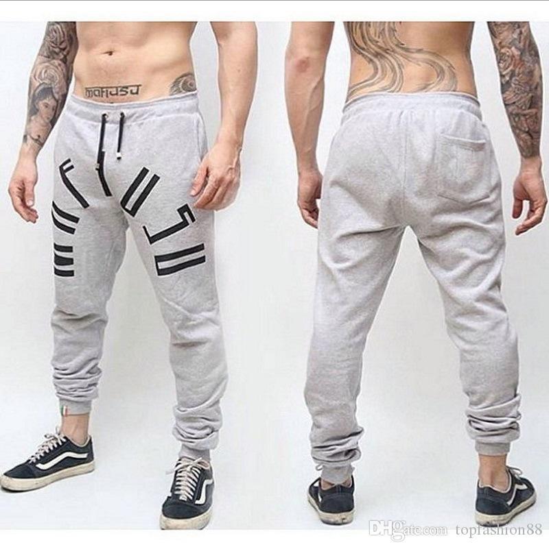 Pantaloni da uomo casual con coulisse per i ragazzi nero autunno moda attiva allenamento jogger matita pantaloni pantaloni sportivi XXL