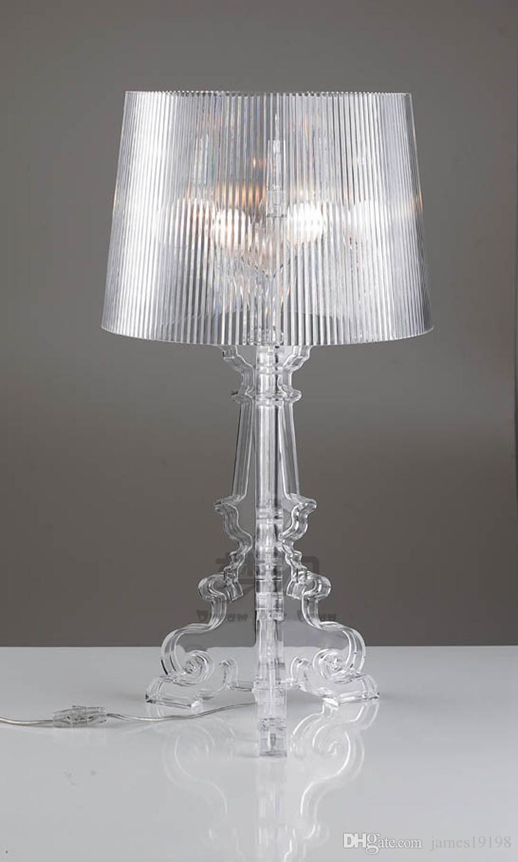 Ghost Shadow Acrylic Table Lamp Dia24 cm LED table light Bedroom Living Room Desk Bedside lighting TA064