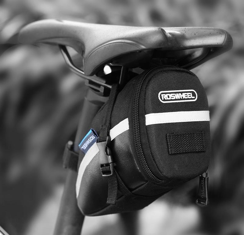 Bolsa de sillín de bicicleta Roswheel Seat Post bolsa de cola de almacenamiento Ciclismo bicicleta de carretera trasera del bolso de bicicletas Bycicle bolsa bisiklet aksesuar 13196 envío gratis