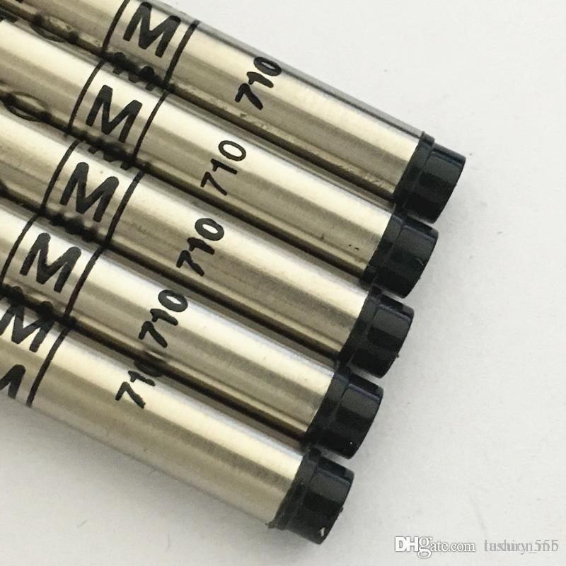 Luxury Accessory of MB Pen Refill black blue 710 series ink roller ball pen refill for gifts