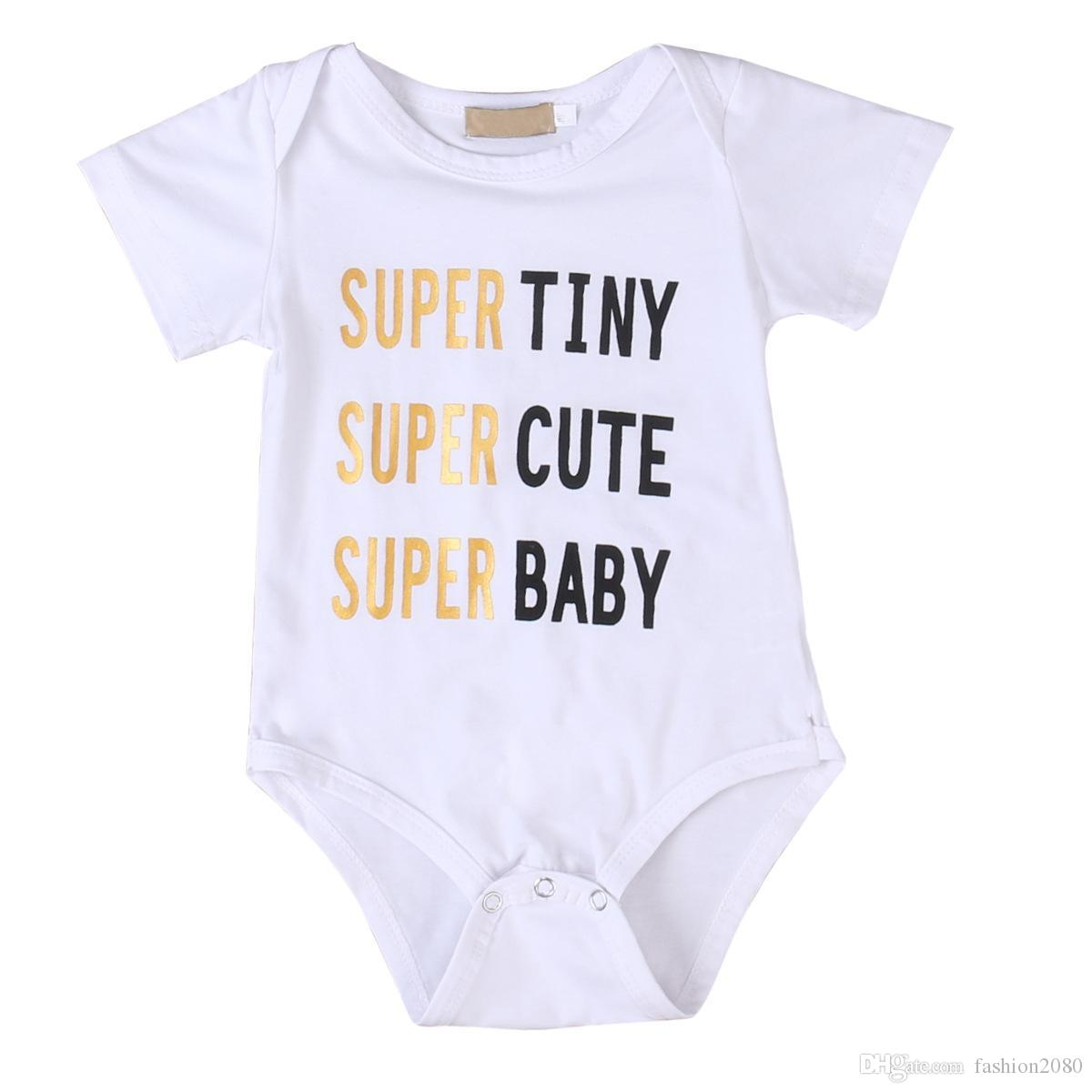 7c1e7aa36143d Super Mom Kid Baby Famiy Matching T Shirt Kids Tee Letter Bodysuit Newborn  Infant Babies Boys Girls Clothes Outfits Wholesale Matching Sibling Clothes  ...