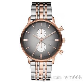 Luxury fashion, leisure business hot sale sports free shipping ar1721 exquisite quartz watch men's Watch