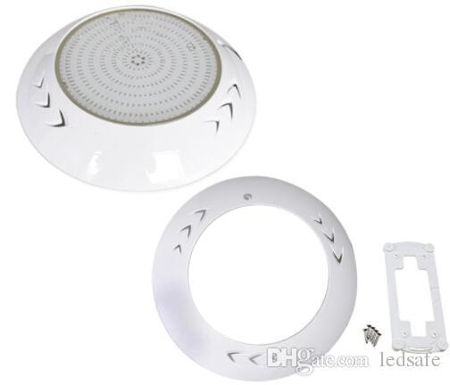 Lampada a LED per piscina completamente in resina AC 12V RGB Luce bianca fredda Colore IP68 Impermeabile per esterno Apparecchio per illuminazione subacquea 18W 42W