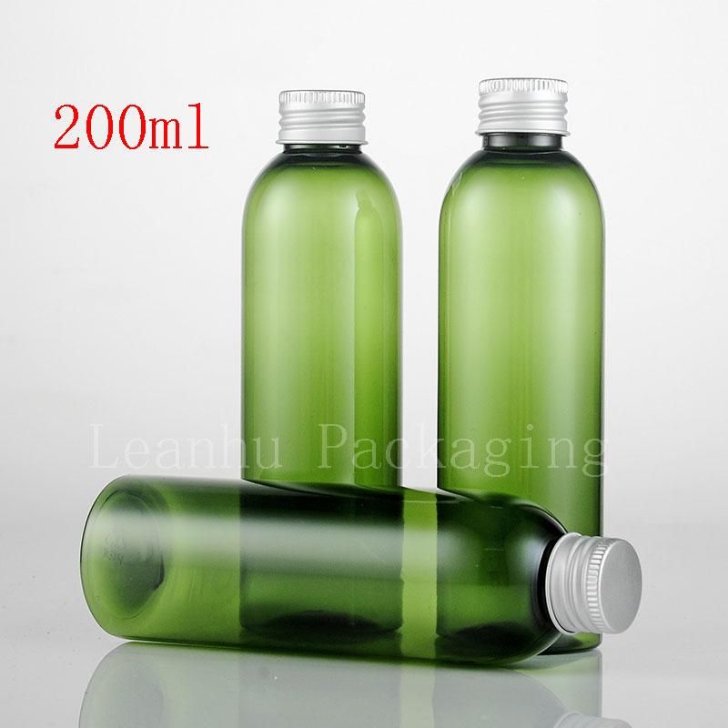 200ml green bottle with aluminum lid