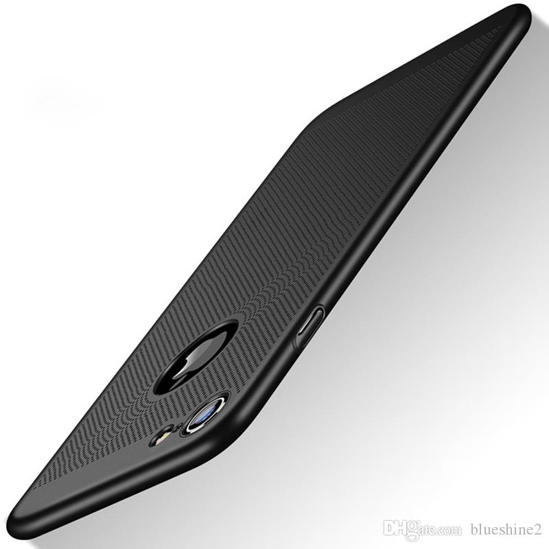 Blueshine Funda delgada delgada para iPhone 7 iPhone 6 / 6s iPhone 5 5s SE 6 / 6SPlus 7 Plus Cubierta dura del teléfono celular cubierta