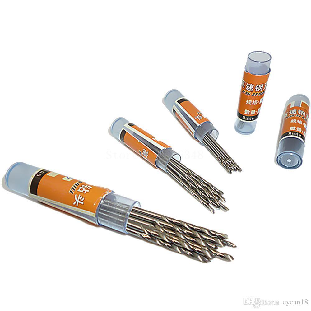 50 adet 0.6 / 0.8 / 1 / 1.5 / 2mm Çok Küçük Mikro Rolson Modeli Craft Matkap Uçları Plastik / Metal / Ahşap Sondaj