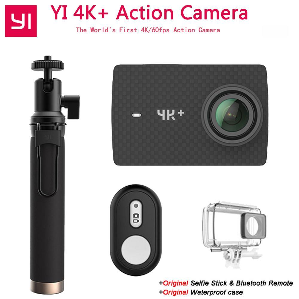 "Xiaoyi YI 4K + Action Camera Ambarella H2 12MP 155 Degree 2.19 ""RAW YI 4K + First 4K / 60fps Camera Sport"