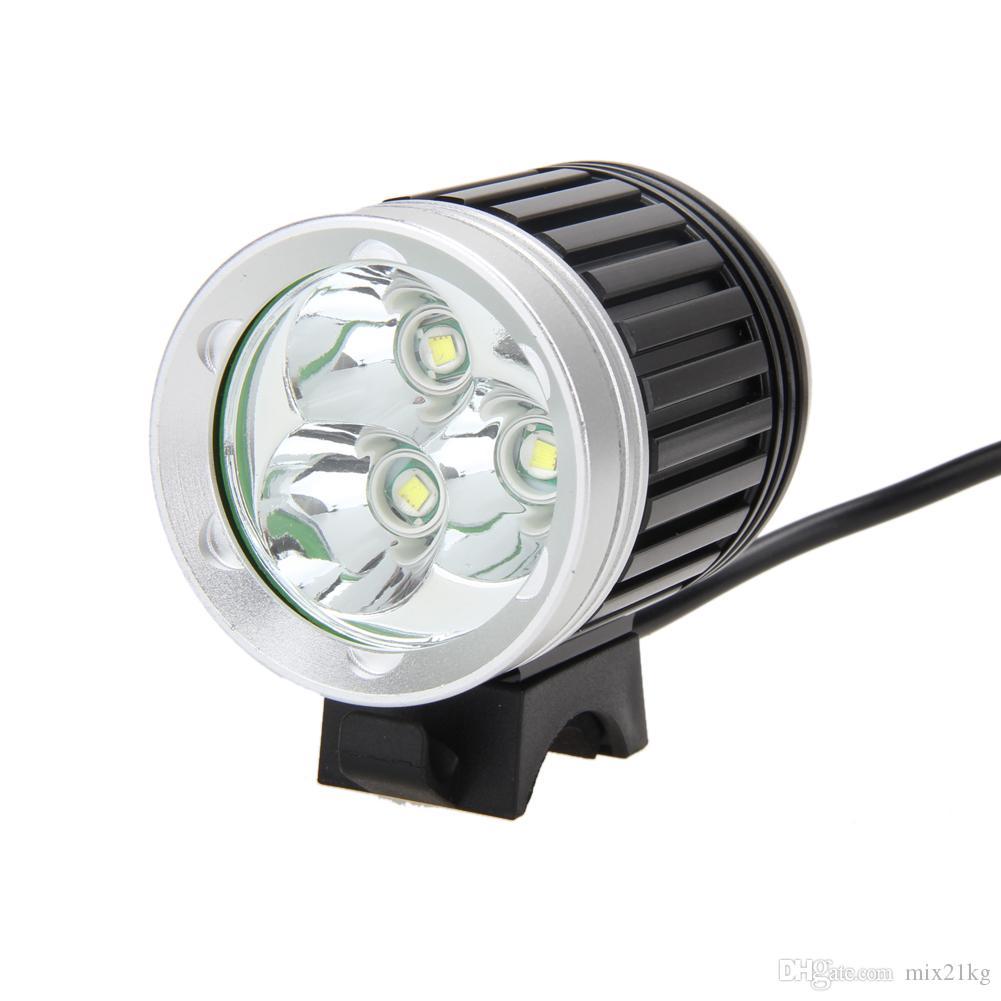 8000Lm 3X XM-L T6 LED водонепроницаемый фары Фара передний велосипед лампы AC зарядное устройство EU Plug велосипед огни набор