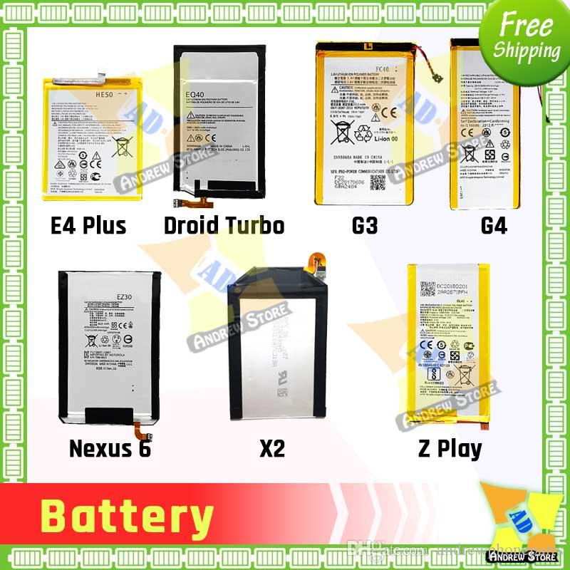 Good Quality Battery for Motorola moto G G2 XT1028 G3 FC40 EY30 XT1097 EX34 XT1053 EQ40 Droid Turbo XT1225 Batteries Replacement