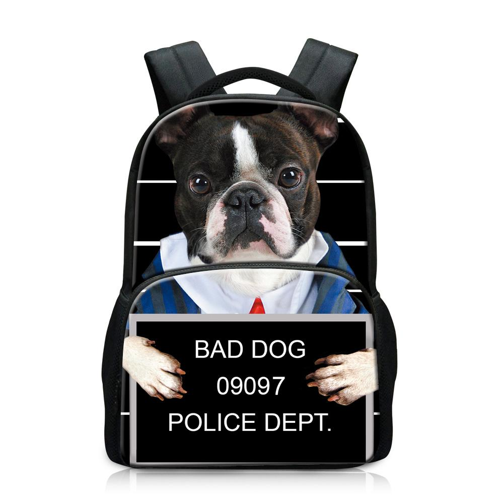 Cute Pet Animal Bulldog French Laptop Backpack 17 Inch Business Travel Backpacks for Men Women Adjustable Shoulder Strap with USB Charging Port Black Mens and Womens Casual Hiking