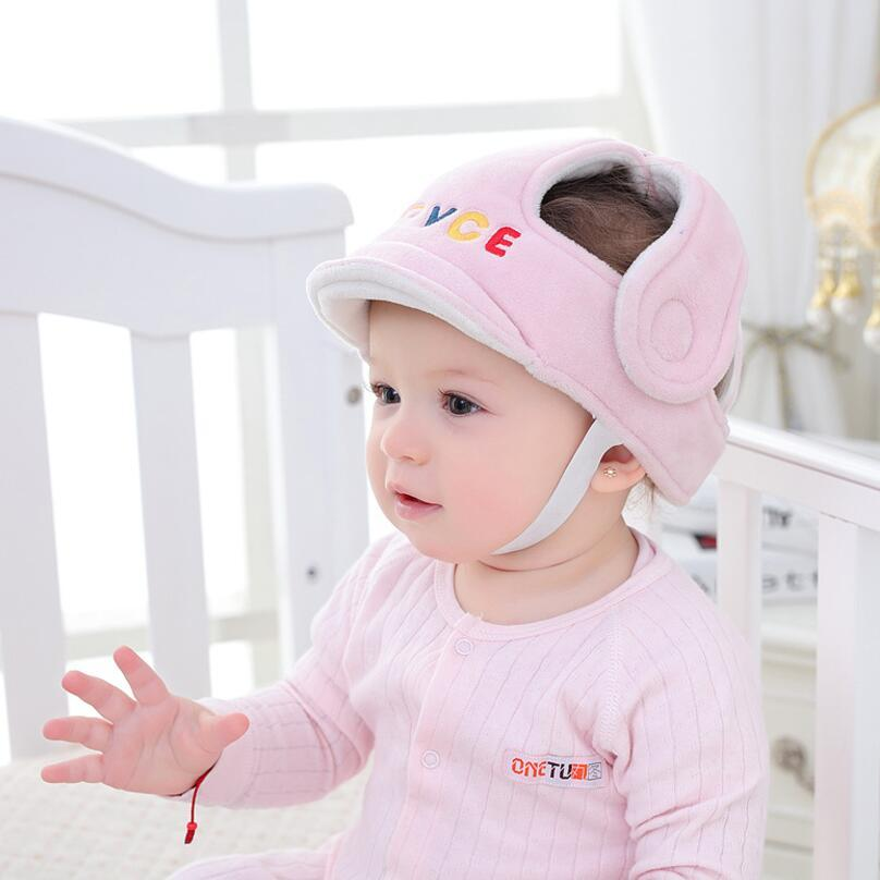 아기 머리 보호 모자 아기 안전 보호 캡 어린이 안전 헬멧 헤드 캡 산책 도우미를 걸어 배우