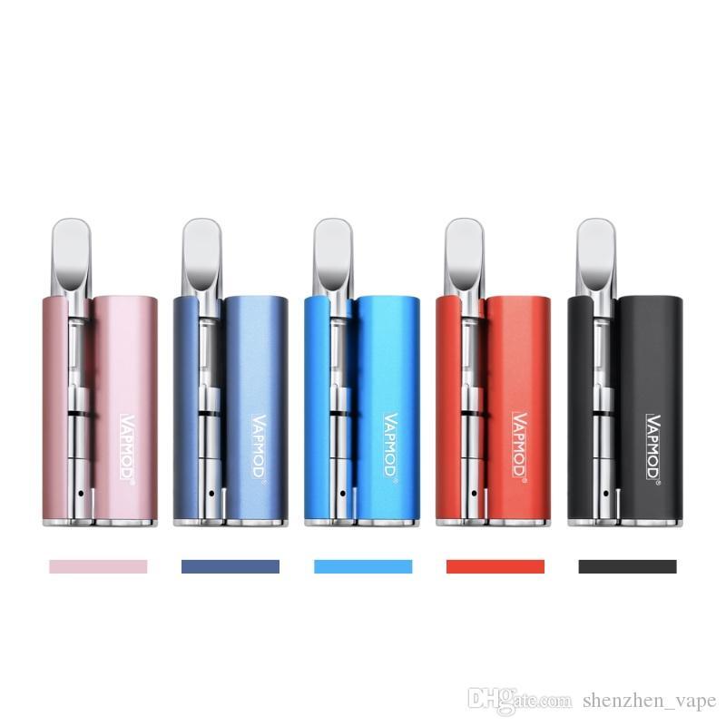 100% orijinal Vapmod Magic 710 mod 380 mAh Ön Isıtma Pil Seti Buharlaştırıcı için 510 konu vape kalem mod
