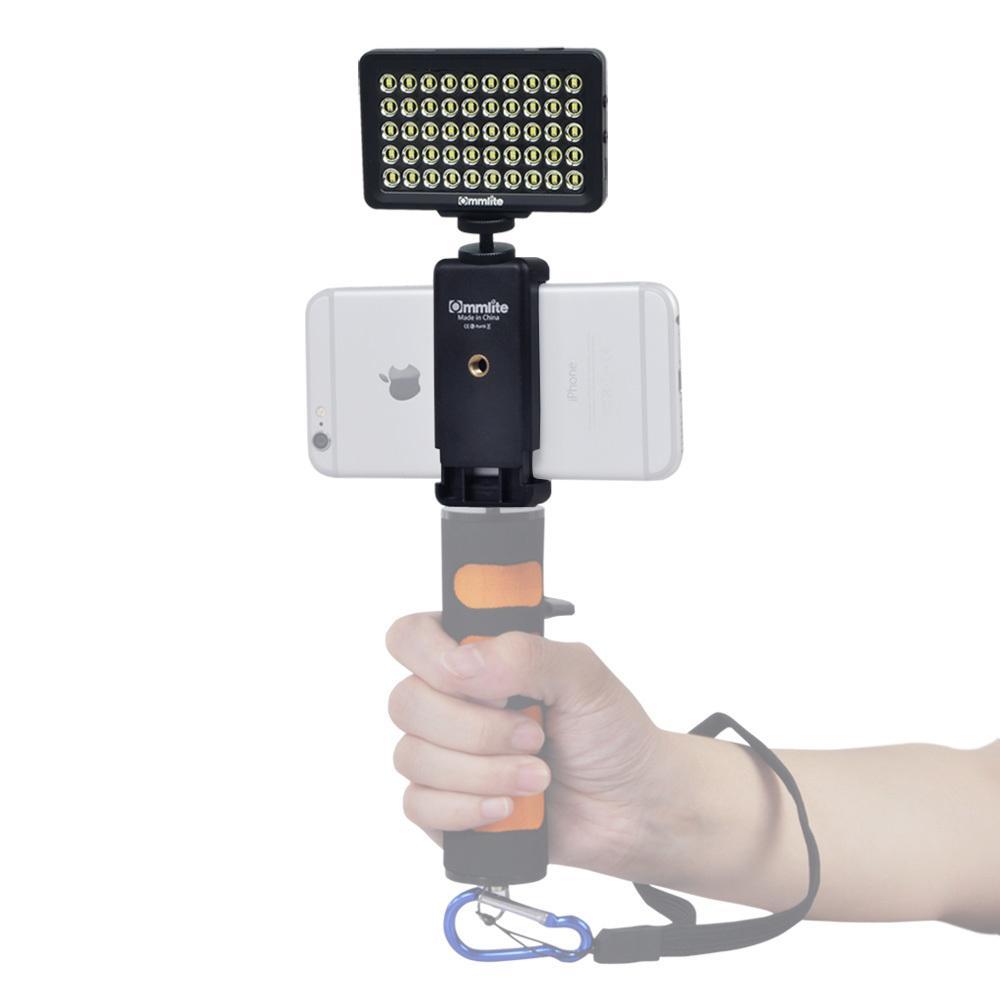 Светодиодный видео свет CM-L50 Dimmable 50LED Ultra High Power Panel video light портативный многофункциональный для камеры и смартфона
