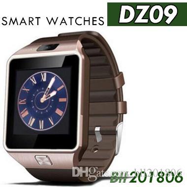 100X martwatch 2018 أحدث DZ09 دعم بطاقة sim بلوتوث سمارت ووتش ل أبل سامسونج ios الروبوت الهاتف الخليوي 1.56 بوصة smartwatches dhl