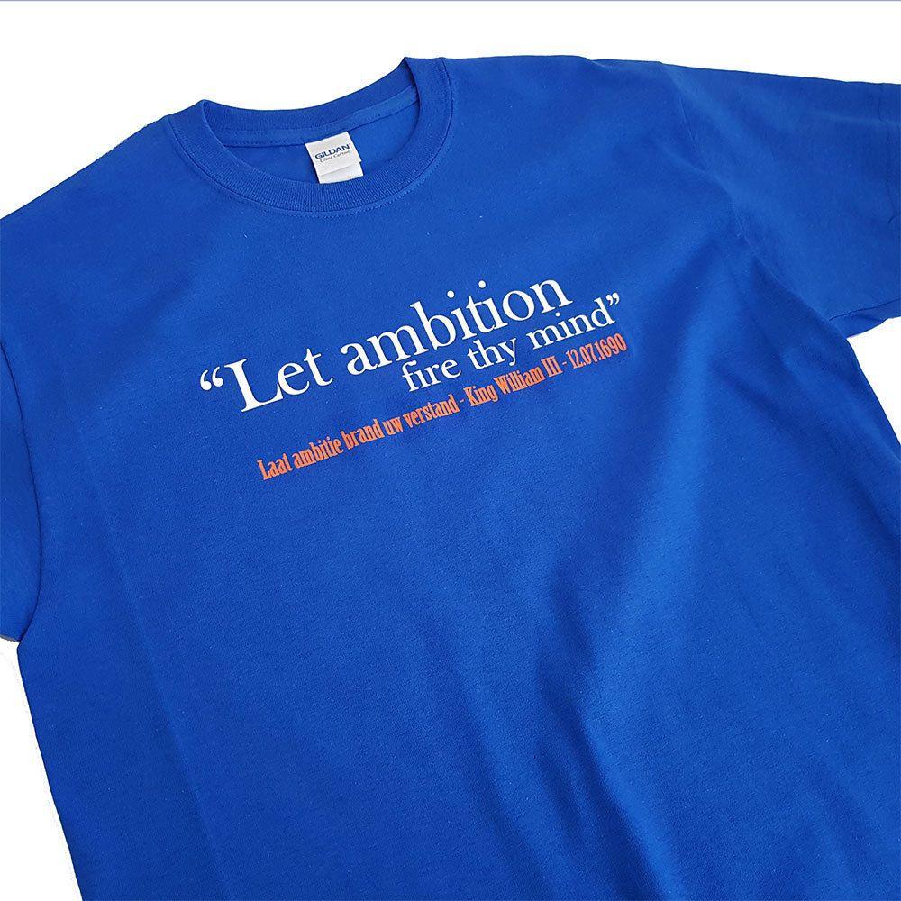 Glasgow Rangers FC Loyalist T-shirt King Billy Quote Sandy Row Mens Gift Tshirt