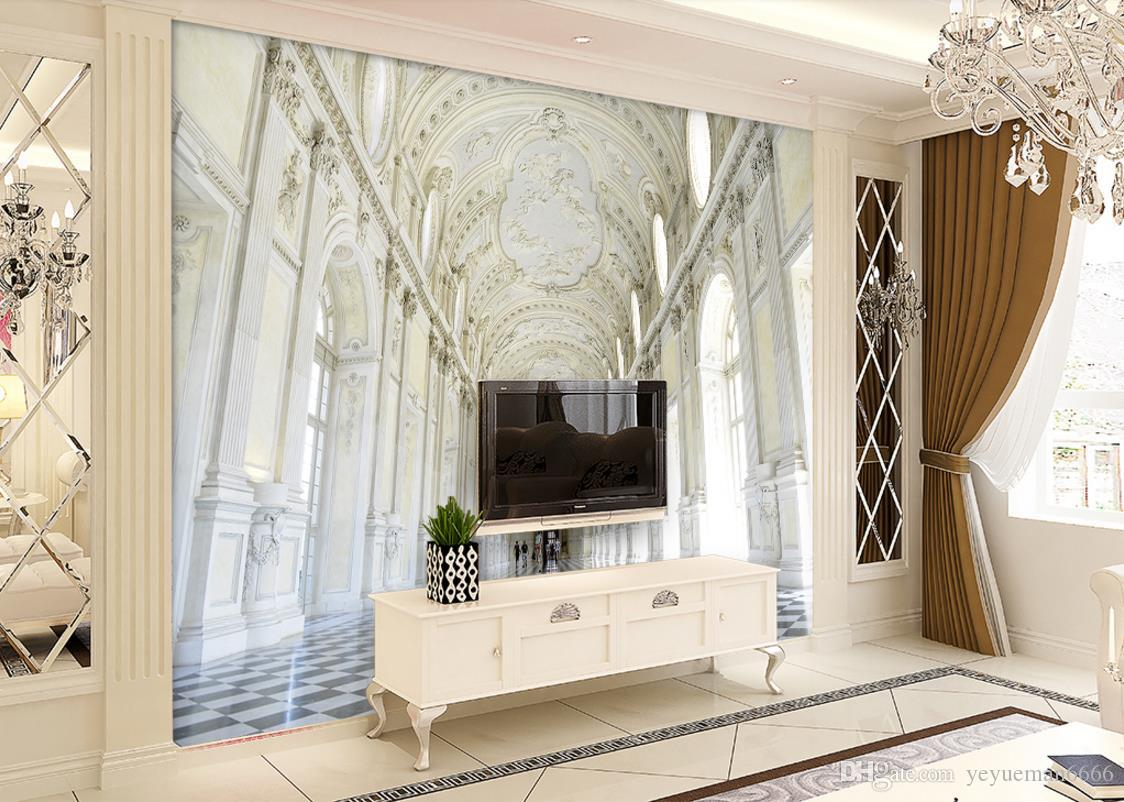 обои для стен 3 d настроить papel de parede обои для гостиной Дворец картинка в картинке фреска обои