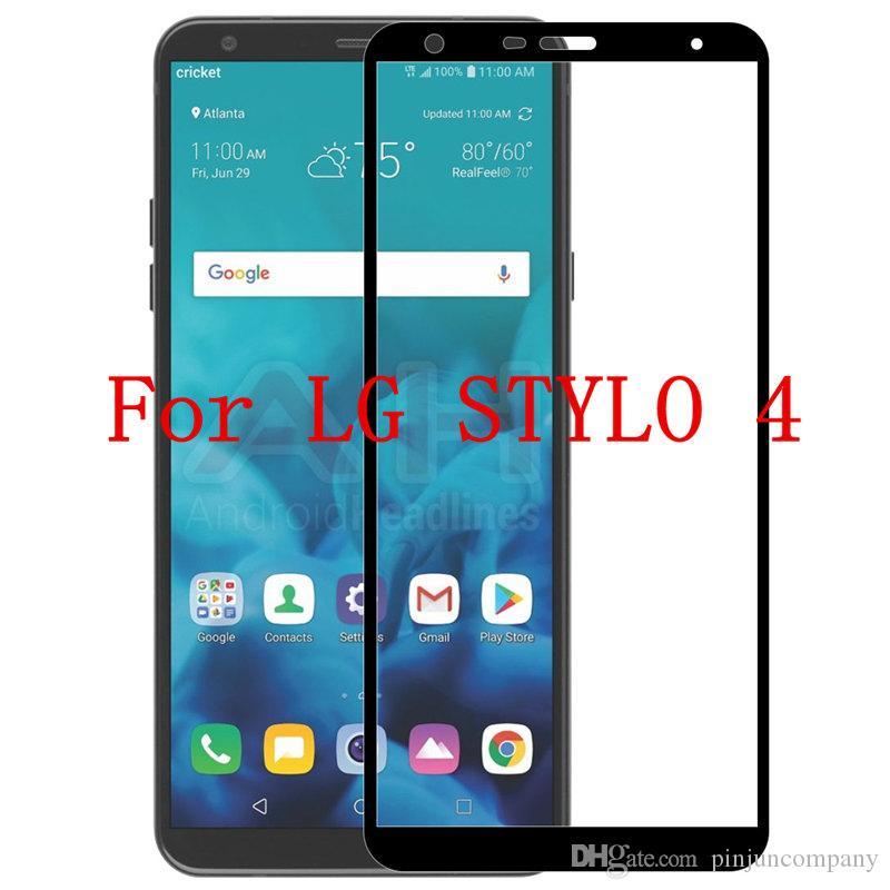 Für LG Stylo 4 MetroPCS LG Stylus 4 Full Ausgeglichenes Glas für Motorola MOTO G6 PLAY Telefon Schutzschirm ohne Kleinverpackung