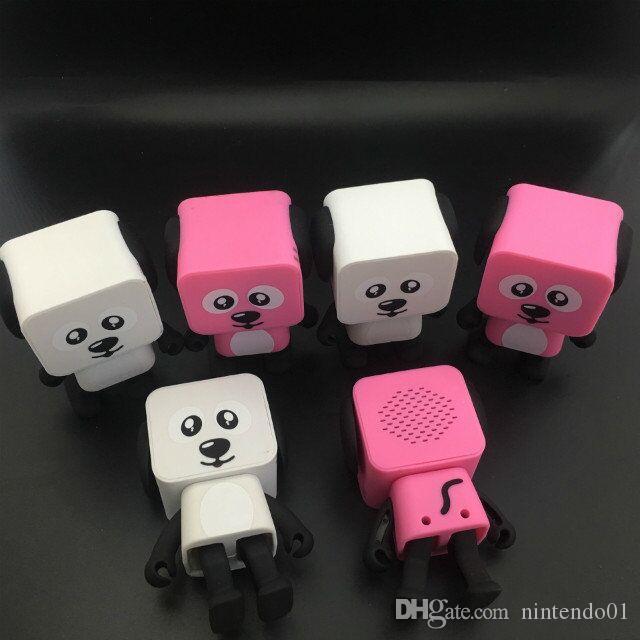 Venta caliente Smart Dancing dog Mini altavoz Bluetooth Multi Altavoces Bluetooth portátiles 4 colores Nuevo altavoz Regalo creativo