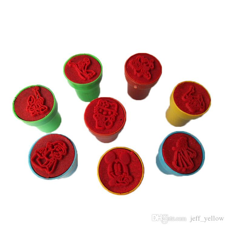 Ücretsiz kargo 50 Cent Oyuncaklar Çocuk anaokulu Hediye öğrenci Ebeveyn-çocuk damga oyuncak Öğretmen ödül Küçük illüstrasyon damga Toptan oyuncaklar
