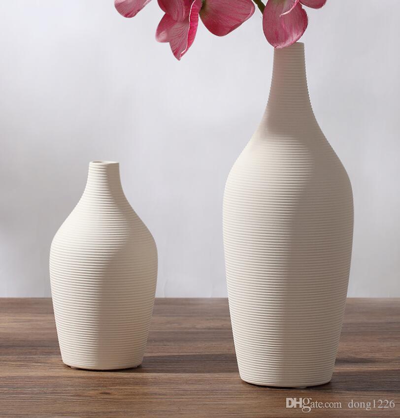 Fernsehschrank weiß keramik kreative vertrag blumenvase wohnkultur handwerk raumdekoration handwerk porzellan figur