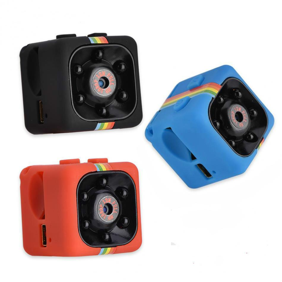 SQ11 مصغرة كاميرا HD 1080P للرؤية الليلية كاميرا فيديو dvr dvr الأشعة تحت الحمراء مسجل فيديو الرياضة الكاميرا الرقمية دعم tf بطاقة dv كاميرا