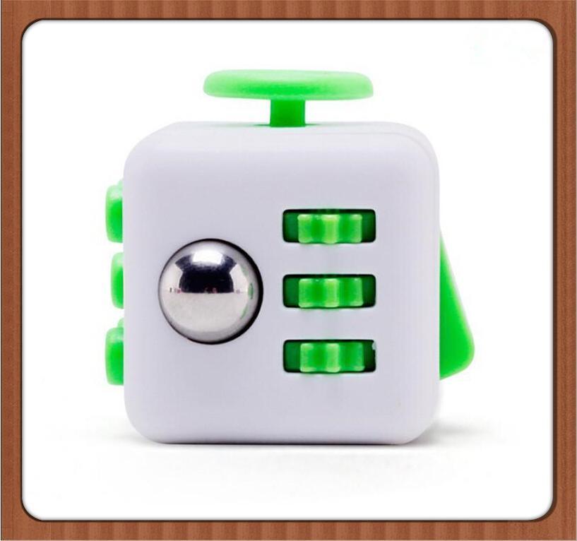In Stock 2017 Popular Decompression Toy Fidget Cube The World'S First  American Decompression Anxiety Toys Via DHL Stress Relievers Games Boob  Stress