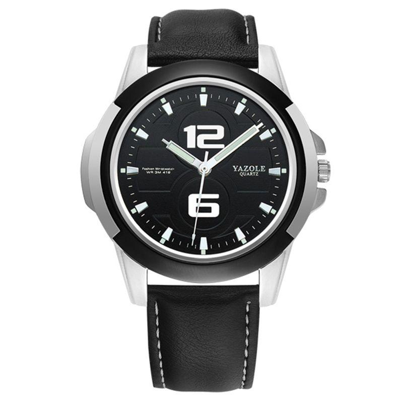 YAZOLE Fashion sports Quartz Watch Men Watches Top Brand Luxury Male Clock Business Mens waterproof Wrist Watch Hodinky Relogio Masculino